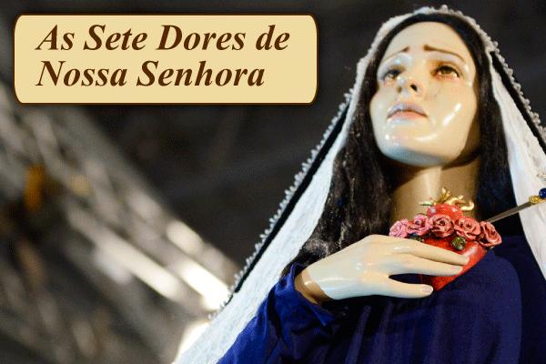 As Sete Dores de Nossa Senhora (por Santo Afonso – Glórias de Maria)