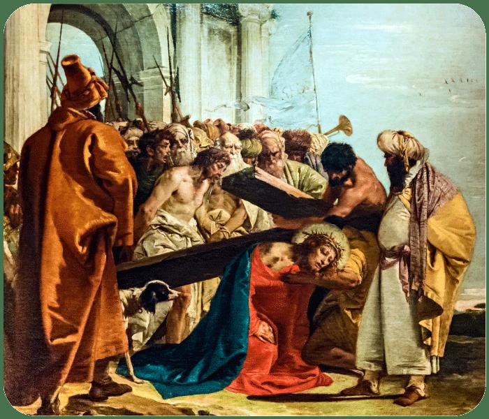 Terceira Estação - Jesus Cai Pela Primeira Vez