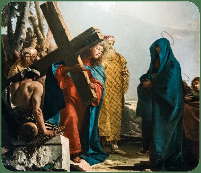 Quarta Estação - Jesus Encontra Sua Mãe